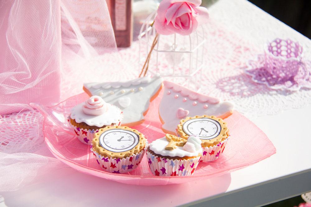 alice nel paese delle meraviglie cup cake