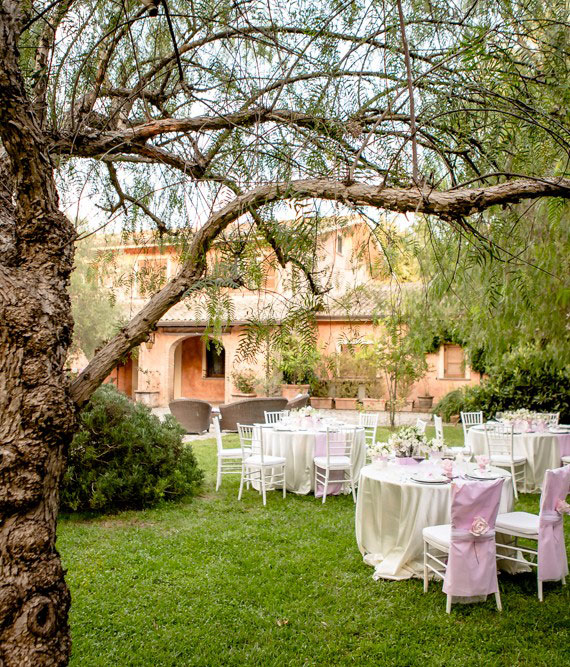 Location per eventi Villa San Nicola Roma