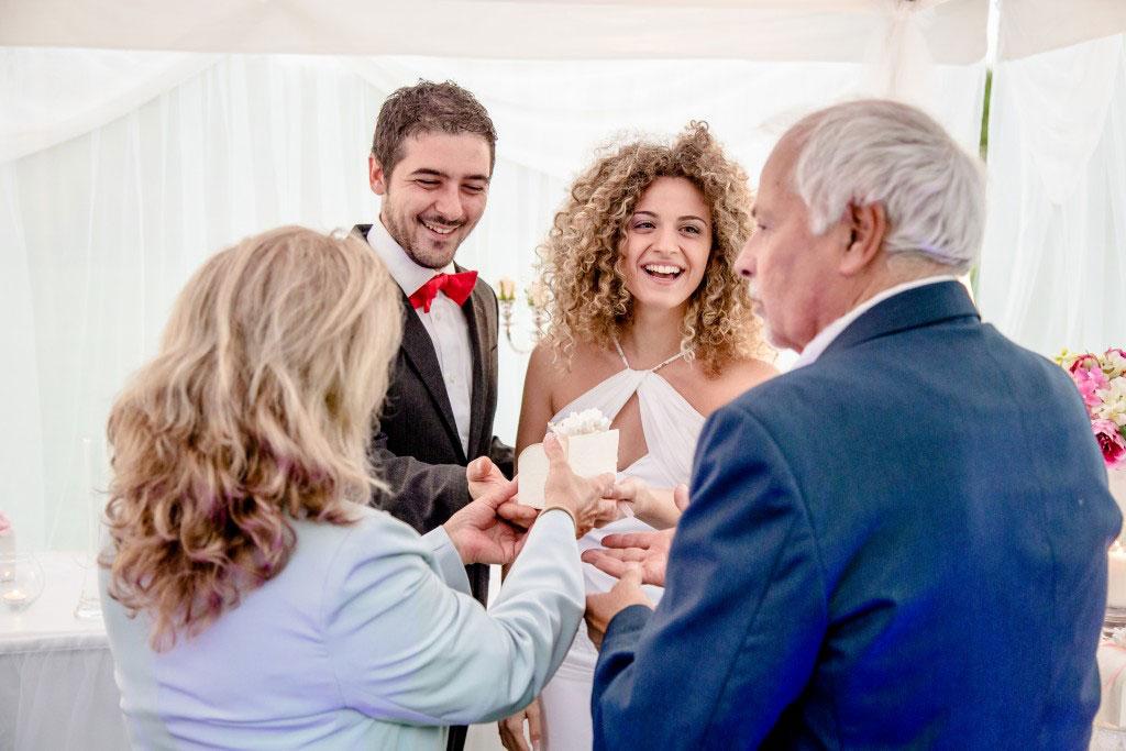 The Wedding Corner - Ospiti