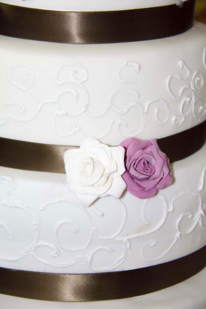 Roselline torta sposi