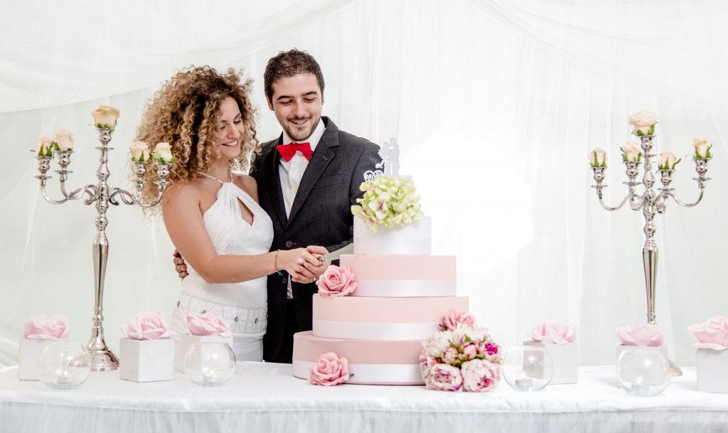 scenografia per matrimonio