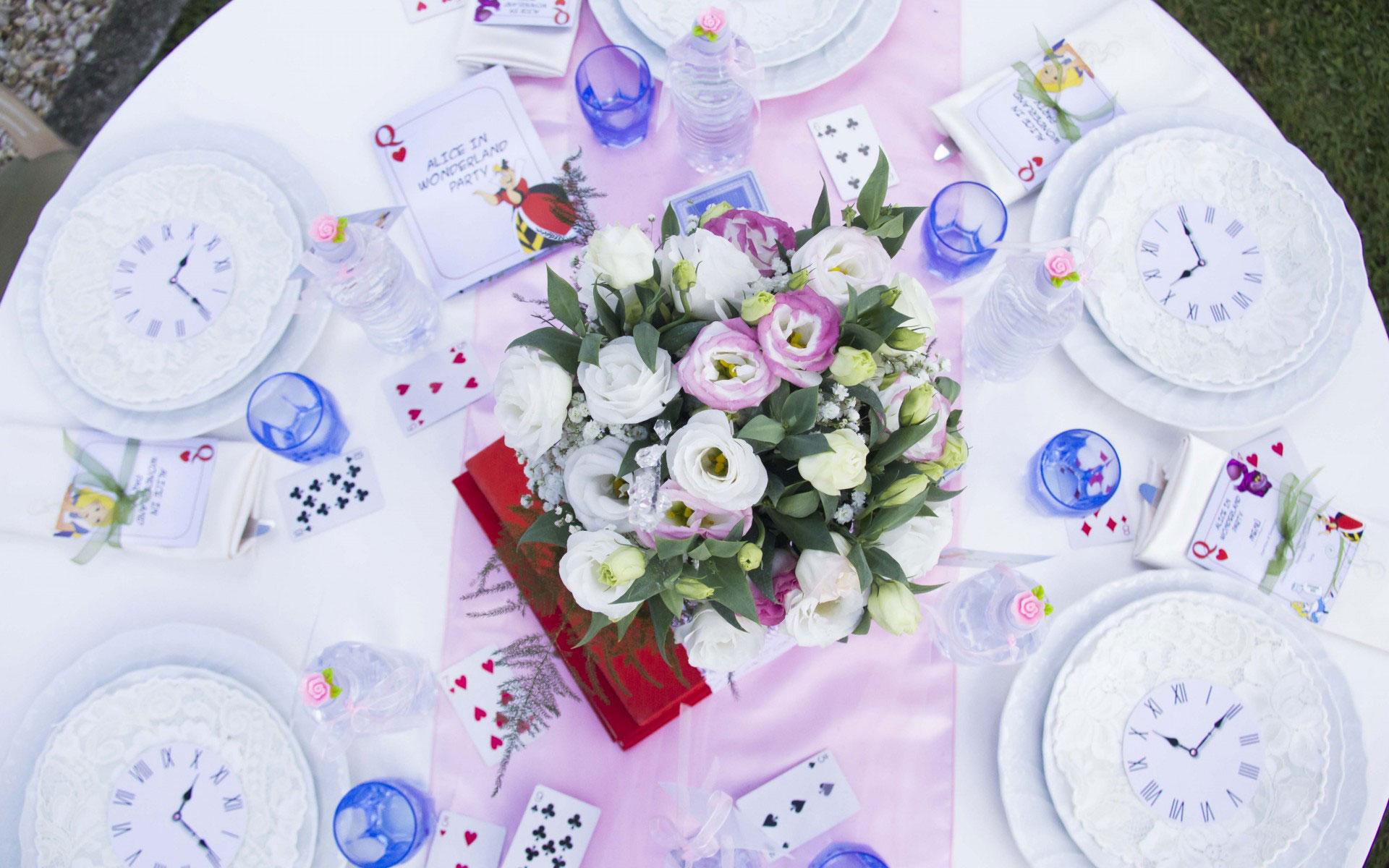 Famoso Un Buon non compleanno: festa bambini a tema Alice nel Paese delle  SY71
