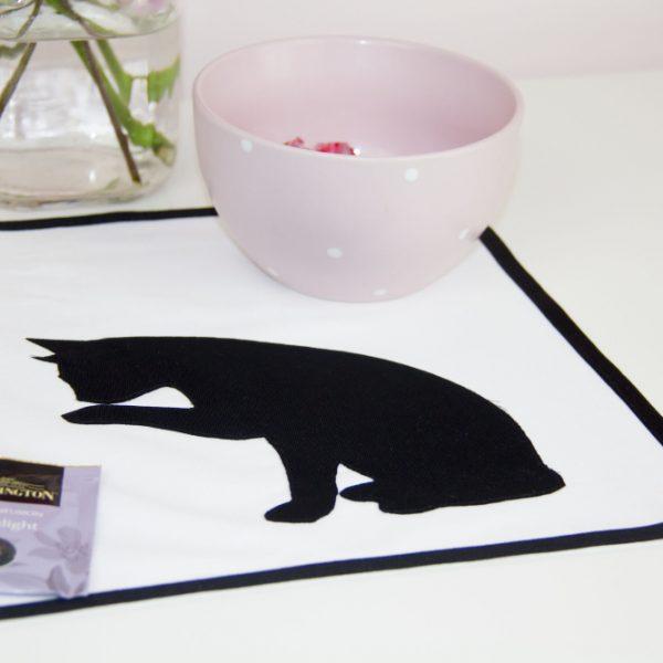 kit-gatto-colazione-tovaglietta-in-cotone-con-sagoma-in-tessuto