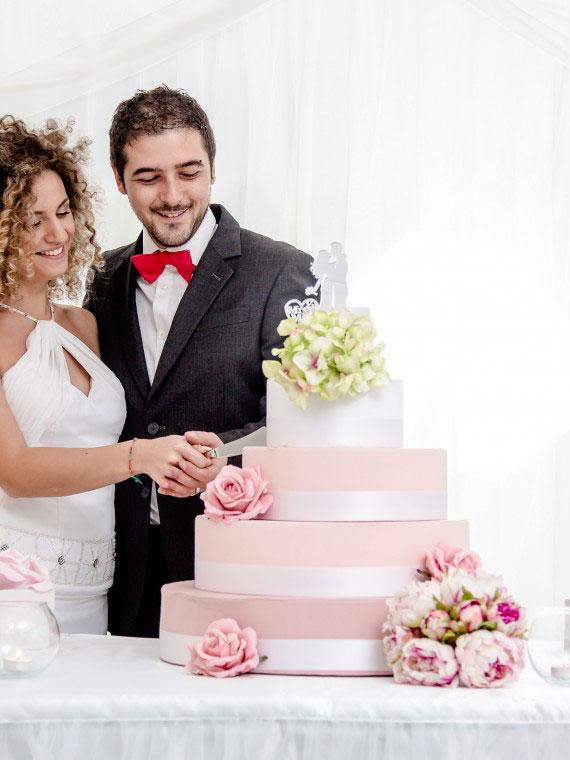scenografia per matrimonio the wedding corner