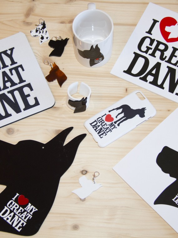 I Love My Great Dane kit e idee regalo per proprietari di alani