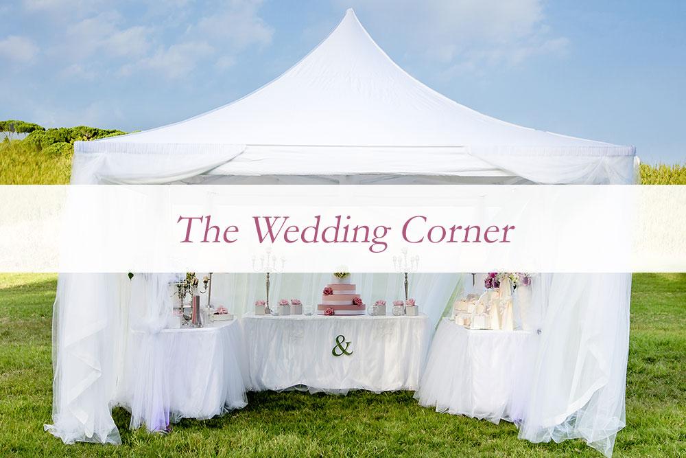 Wedding Corner allestimento matrimonio a noleggio