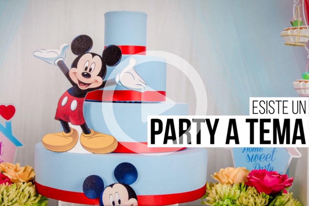 allestimento party a tema per bambini