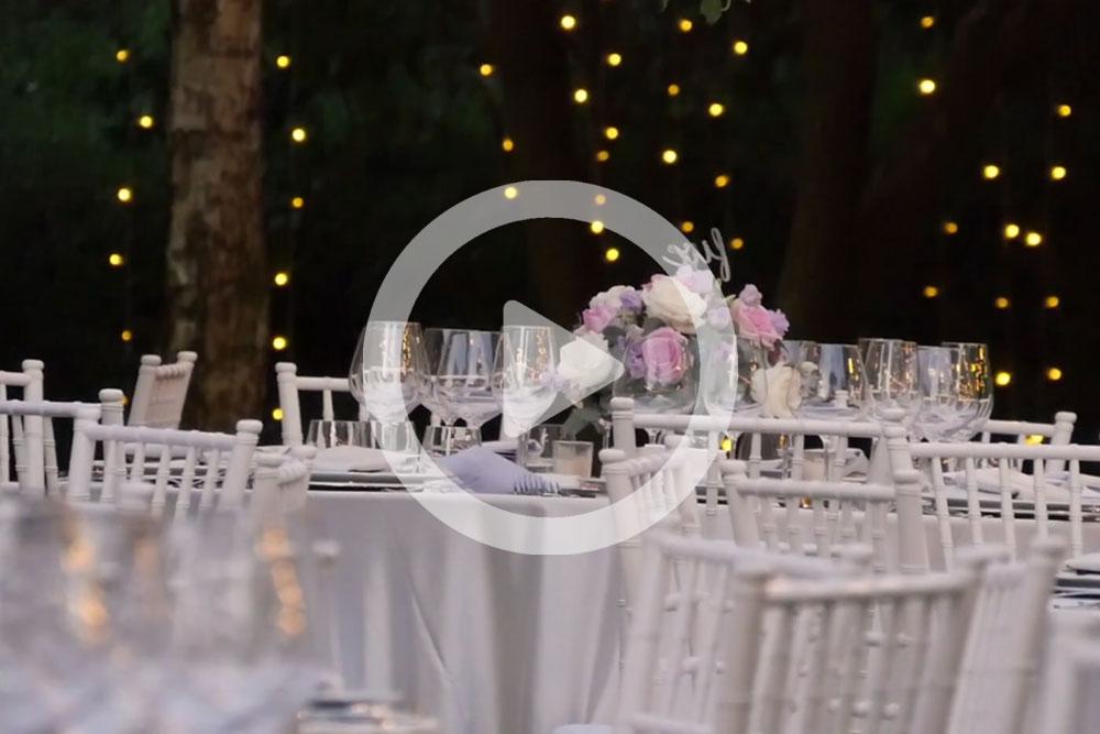 video organizzazione matrimonio Wedding Designer