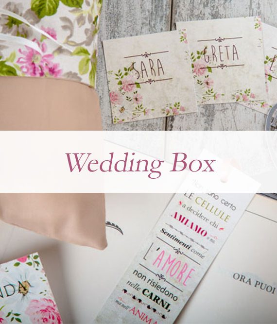 cos'è wedding box